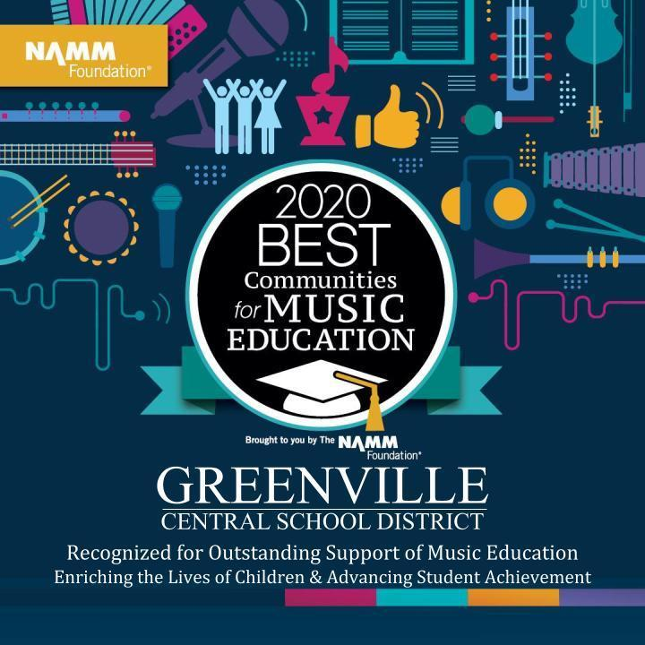 Greenville's Music Education Program Receives National Recognition