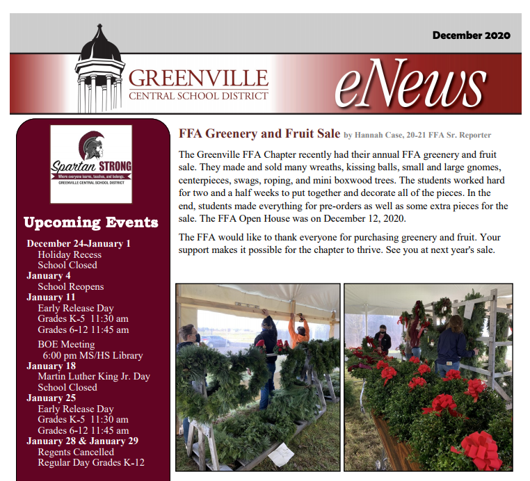 December GCS eNews