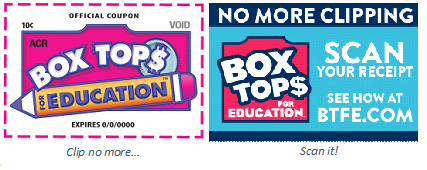 Box Tops for Education Program