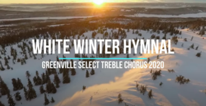 HS Select Choir: White Winter Hymnal
