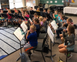Fourth Grade Instrumental Music Program Begins