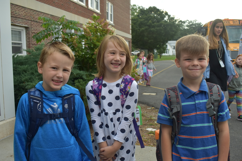Opening Day at Scott M. Ellis Elementary School