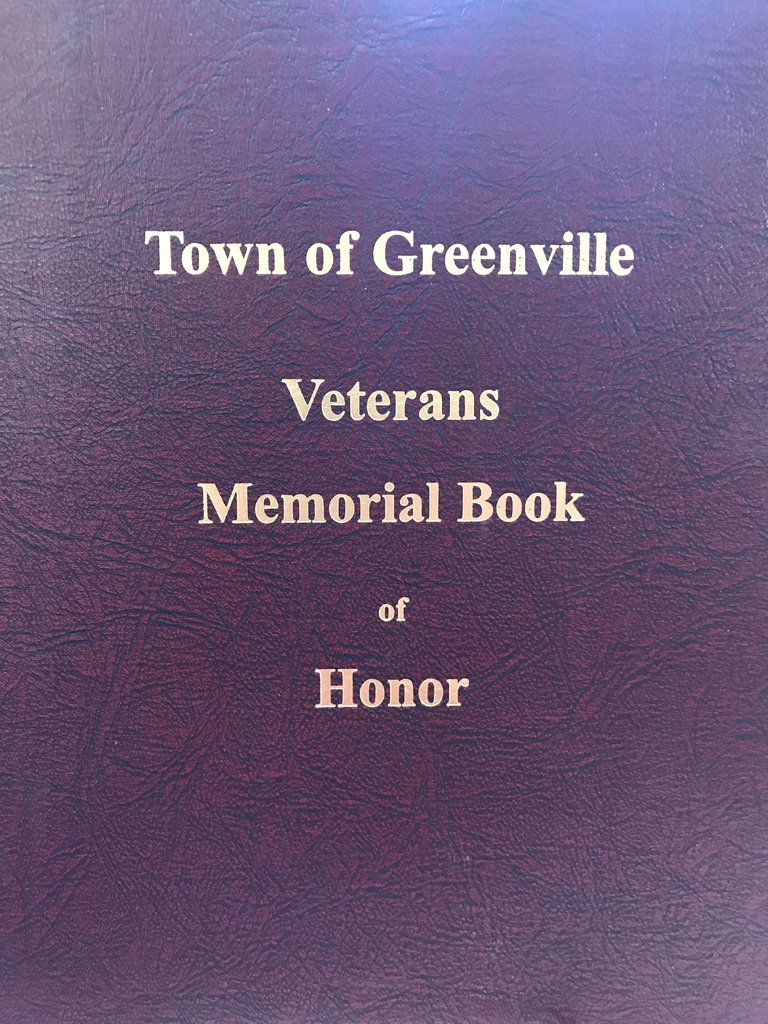 Veterans Memorial Book