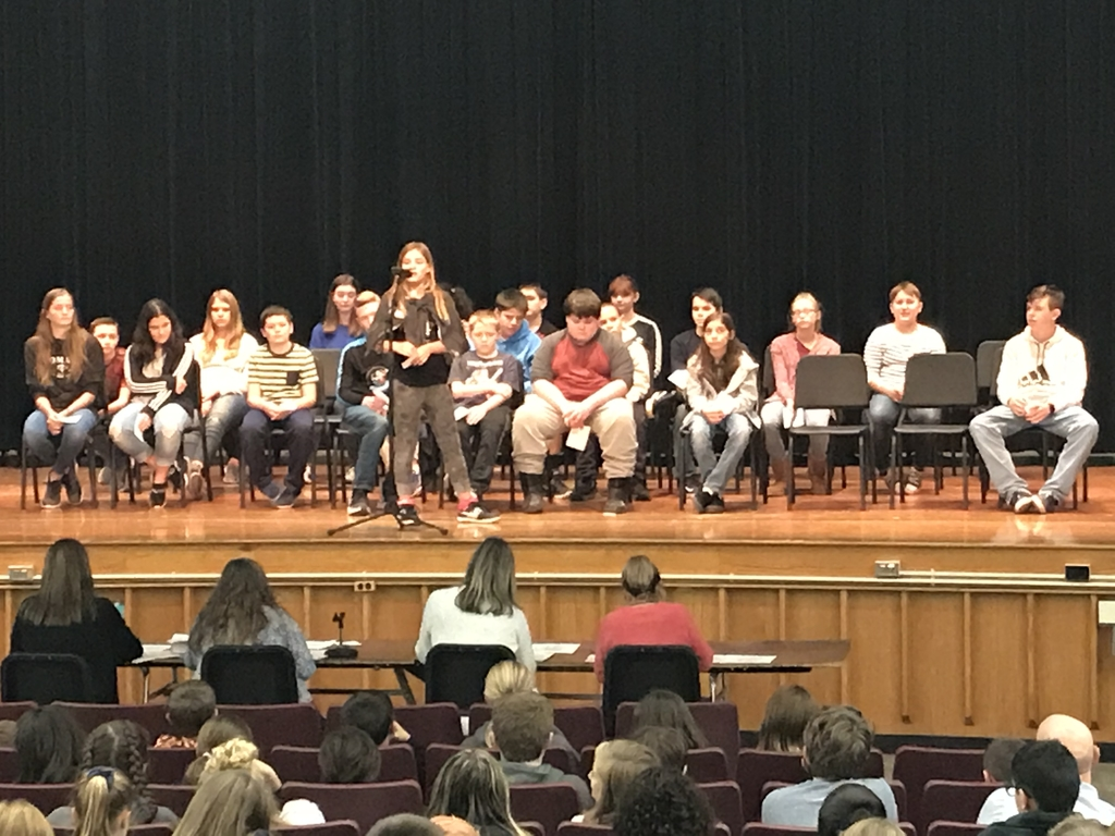 Middle School Spelling Bee
