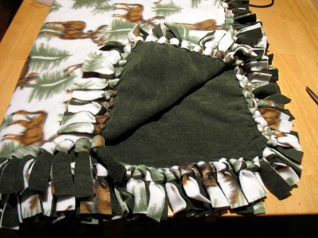 no-sew blanket example