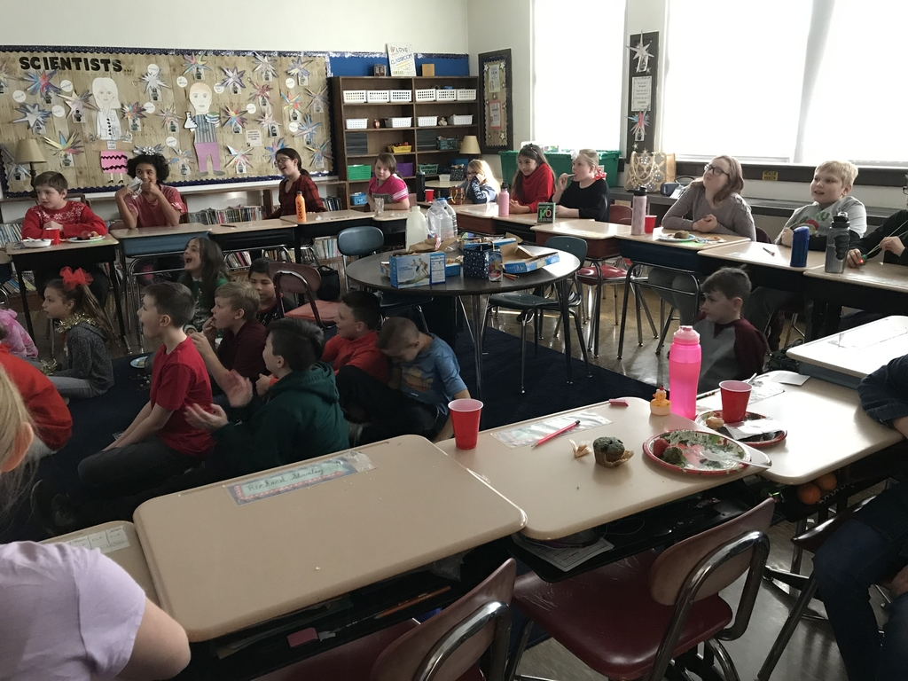 5th grade classroom gathering