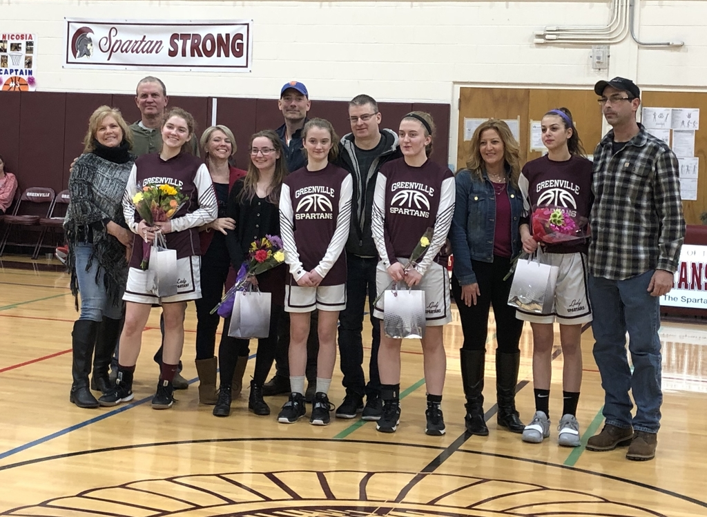 Varsity Girls' Basketball Senior Night